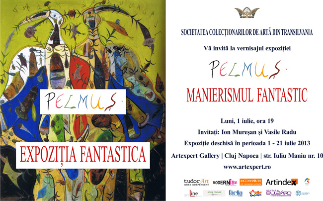 """Ștefan Pelmuş, """"Manierismul fantastic"""" @ Artexpert Gallery, Cluj-Napoca"""