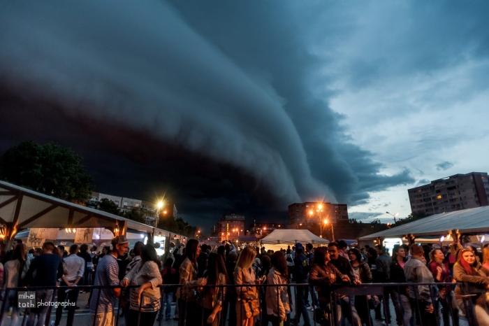 Timișoara – s-a întors cerul pe dos