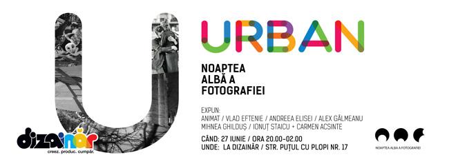 URBAN – expoziție de fotografie urbană la Dizainăr de Noaptea Albă a Fotografiei