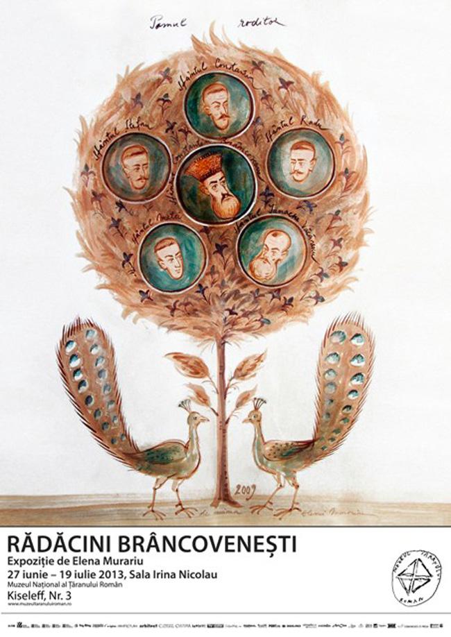 Rădăcini Brâncovenești de Elena Murariu @ Muzeul Național al Țăranului Român