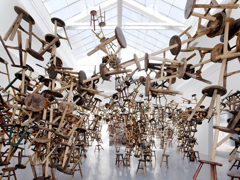 Ai Weiwei's Bang installation at German Pavilion, Venice Art Biennale 2013