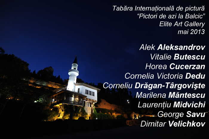 "Tabara Internationala de creatie – ""Pictori de azi la Balcic"""