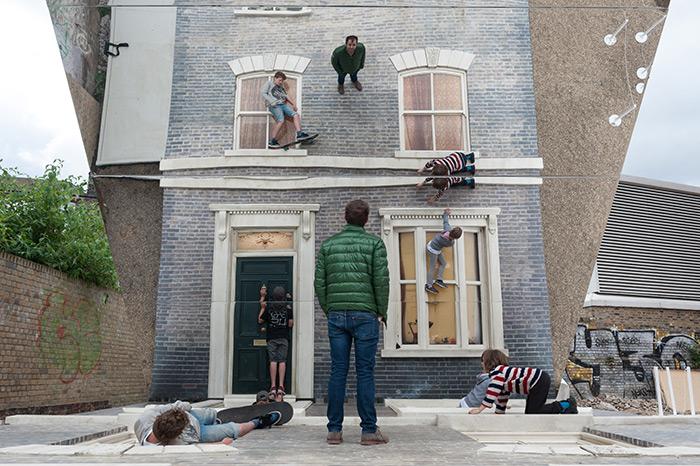 Climb the Walls of this London Illusion