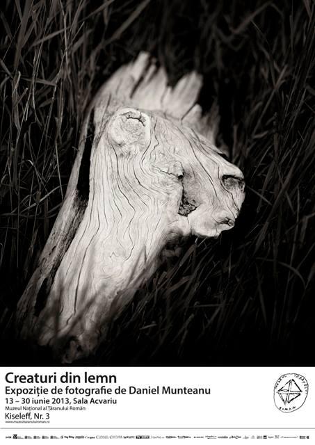 Daniel Munteanu – Creaturi din lemn @ MTR