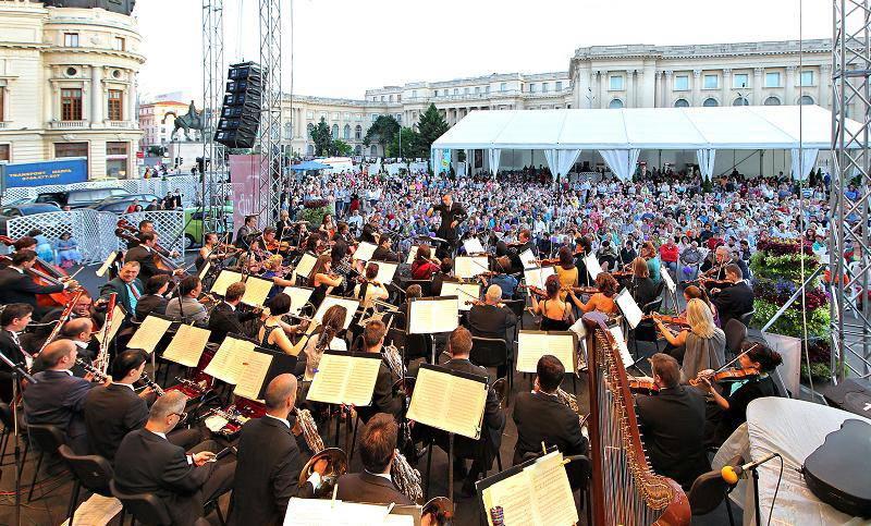 Bucharest Music Film Festival începe astăzi în Piața George Enescu (+program)