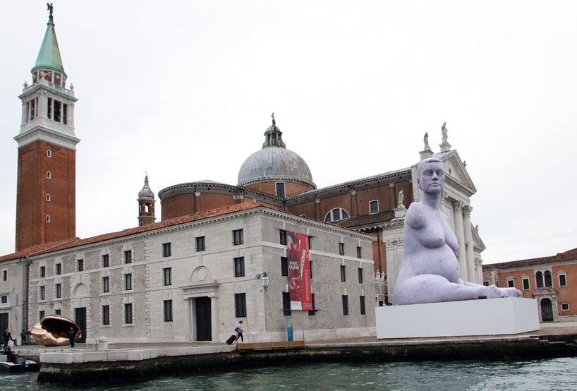 Marc Quinn sculpture controversy at the Venice Art Biennale