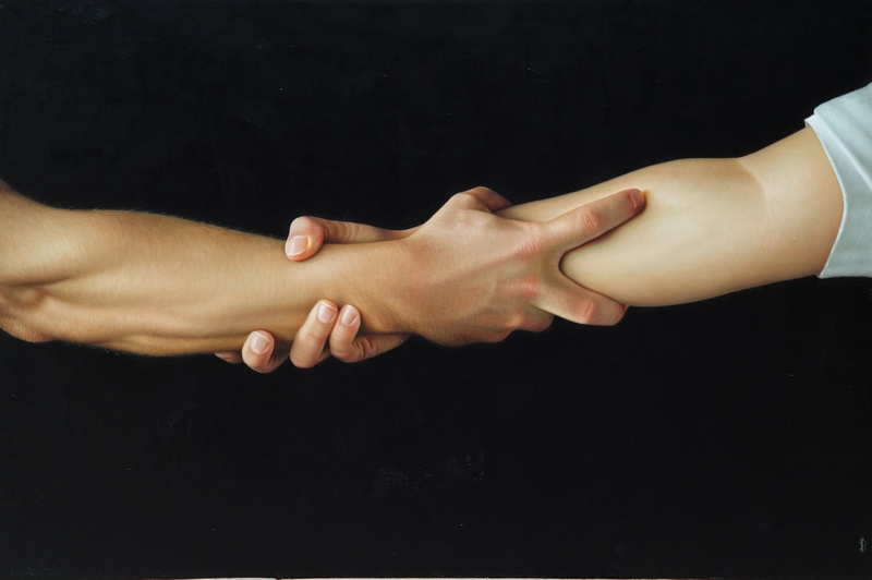 Hyperrealistic Painting by Omar Ortiz