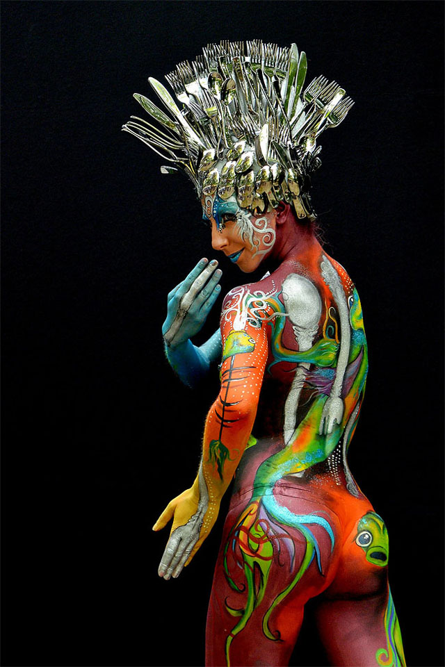 Incredible Body Art from the 2013 World Bodypainting Festival
