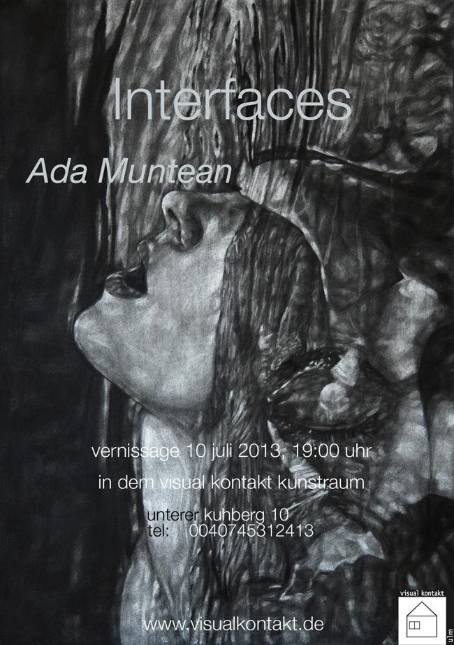 """Ada Muntean """"Interfaces"""" @ Galeria Visual Kontakt din Ulm, Germania"""