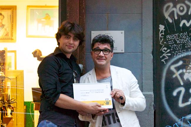 """PO'ARTA"""" este lucrarea care a câştigat marele premiu la secţiunea Design/Design de obiect la Anuala de Arhitectură-Bucureşti 2013"""