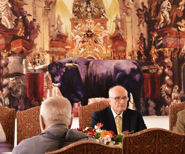 Pictura timişoreanului Gheorghe Fikl, în colecţiile monarhiei europene