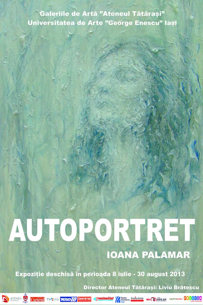 """Ioana Palamar, """"Autoportret"""" @ Ateneul Tătărași din Iași"""