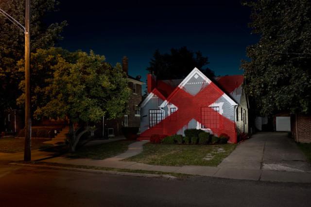 Suburban, Art Installation Series Transforms Homes Into Sculpture