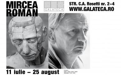 Mircea Roman expune la Galeria Galateca, București