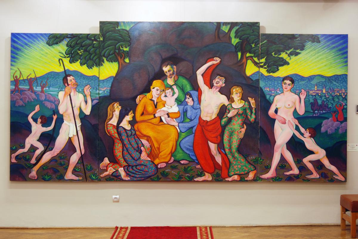 """Expoziţia temporară """"PATRIMONIU – restaurări şi conservări active 2007-2013"""" @ Muzeul Judeţean de Artă """"Centrul Artistic Baia Mare"""""""