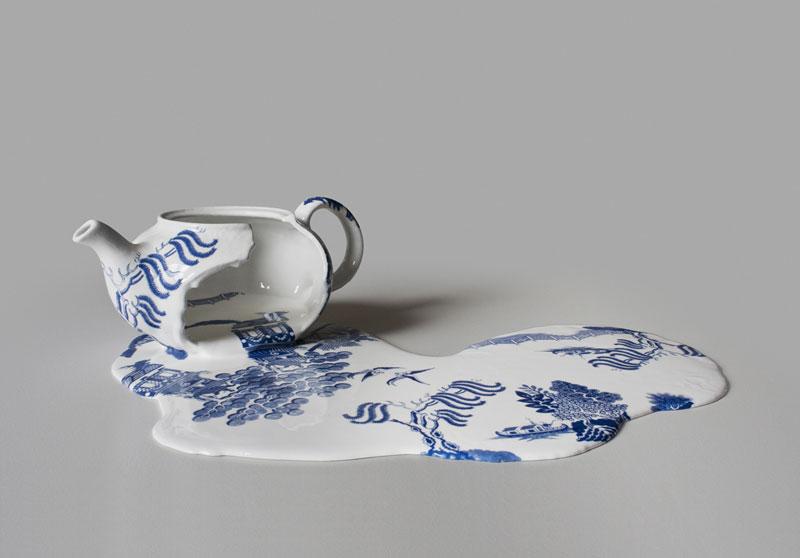 Melting Objects by Livia Marin