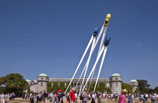 Sculpture Marks 50 Years of the Iconic Sports Car
