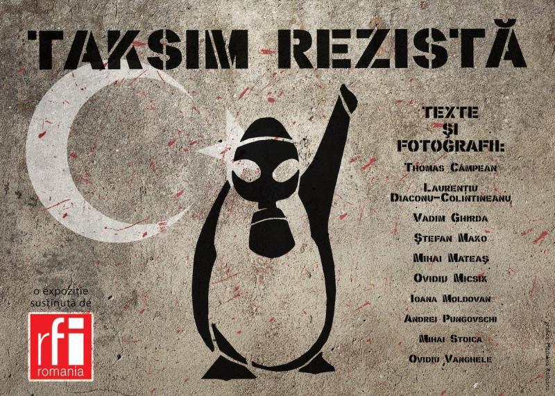 """""""Taksim rezistă"""" @ Dianei 4, București"""