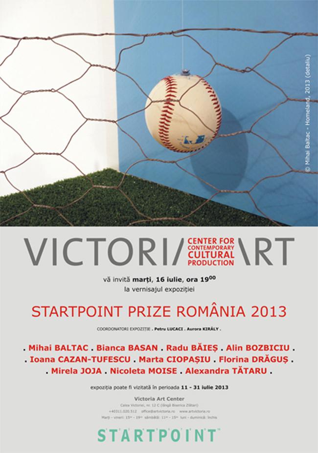 STARTPOINT PRIZE 2013 @ Galeria Victoria Art Center, București