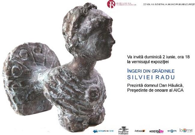 """Silvia Radu """"Grădina cu îngeri"""" @ Palatul Mogoşoaia"""