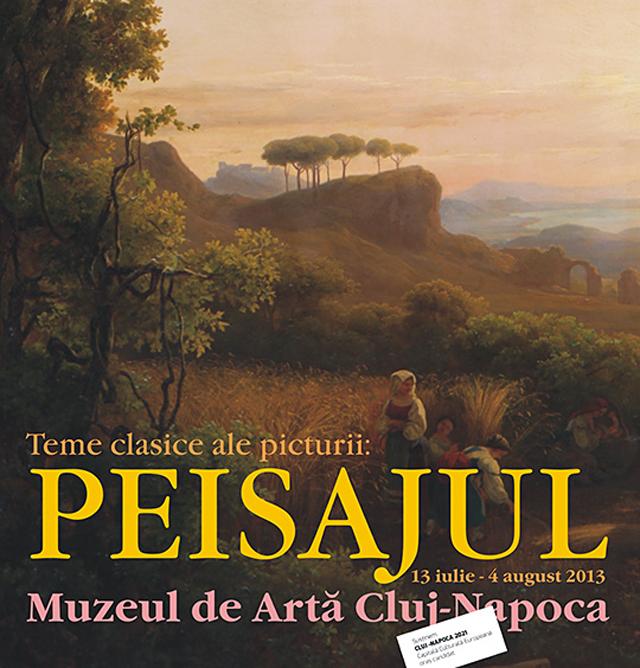 """""""Teme clasice ale artelor plastice: peisajul"""" @ Muzeul de Artă Cluj-Napoca"""
