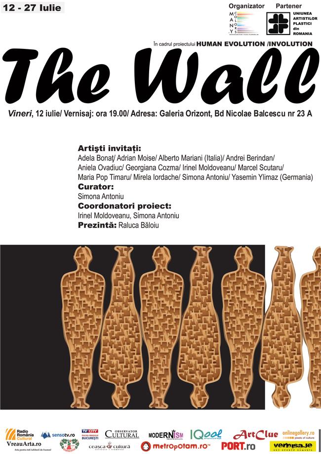 The Wall – expoziţie internaţională de artă contemporană @ Galeria Orizont, București