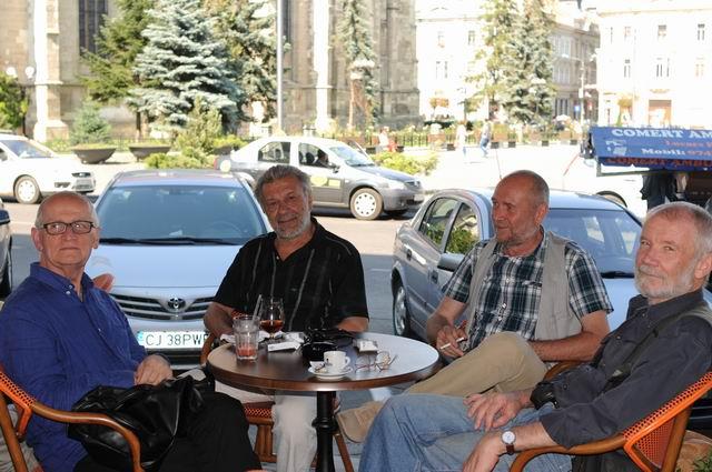 Zi de vară cu Vasile Tolan, Alexandru Păsat, Nicolae Maniu și Corneliu Brudașcu