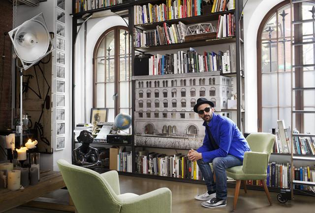 Inside Street Artist JR's New York City Art Studio