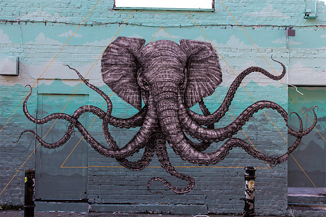 Alexis Diaz New Mural In London, UK
