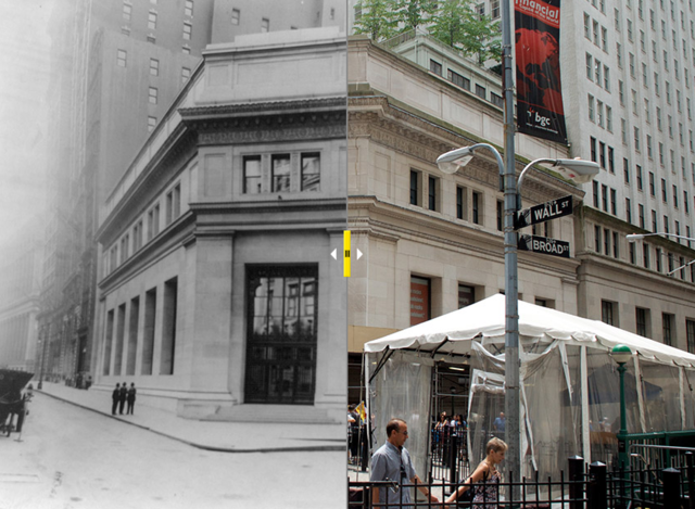 Before and After Photo Series With Interactive Slider Feature That Shows How NYC Landmarks Have Changed