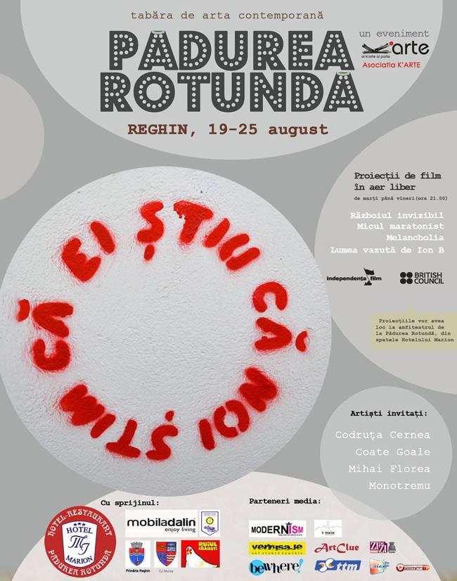 """Tabăra de artă contemporană """"Pădurea Rotundă"""", ediţia a II-a"""