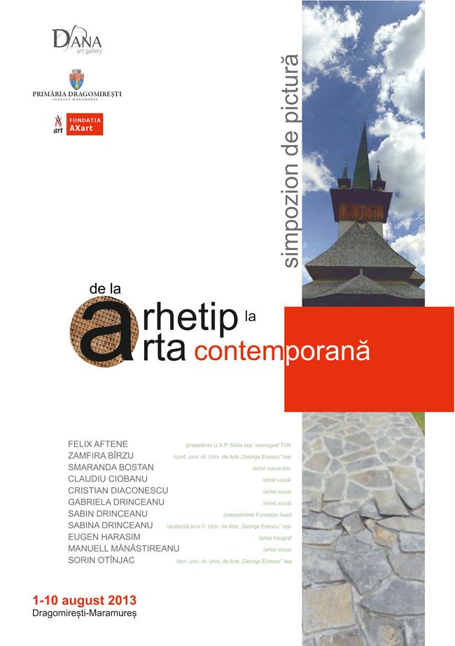 """Simpozionul național de pictură """"De la arhetip la artă contemporană"""""""