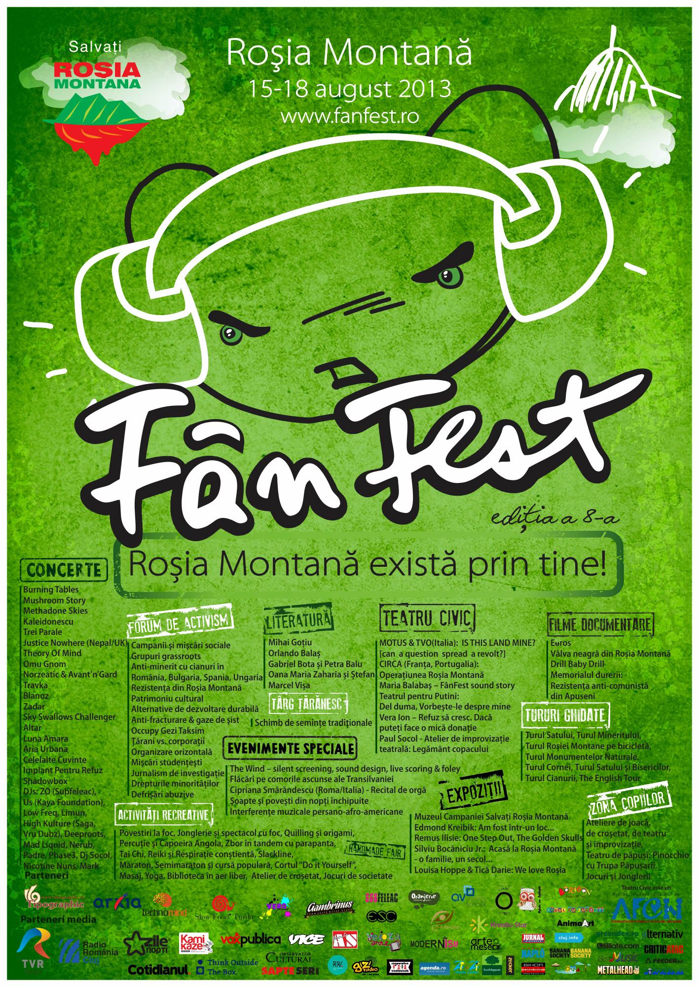 FânFest 2013 anunță patru zile de evenimente culturale la Roșia Montană