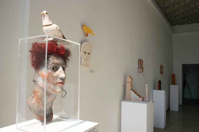 """Elena și Marcel Scutaru """"Forme empatice"""" @ Galeria Galateea, București – imagini"""