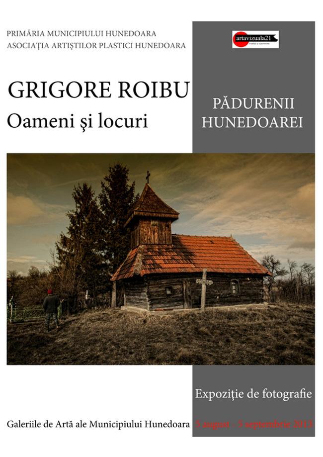 """Grigore Roibu """"Oameni şi locuri. Pădurenii Hunedoarei"""" @ Galeriile de Artă ale Municipiului Hunedoara"""
