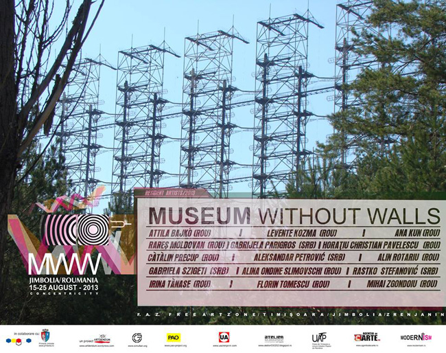 Muzeu Fără Ziduri / Museum Without Walls,15-25 august 2013, Jimbolia