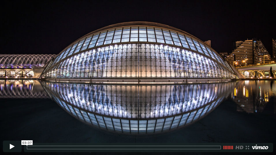 Nightvision – the diversity of architecture across Europe