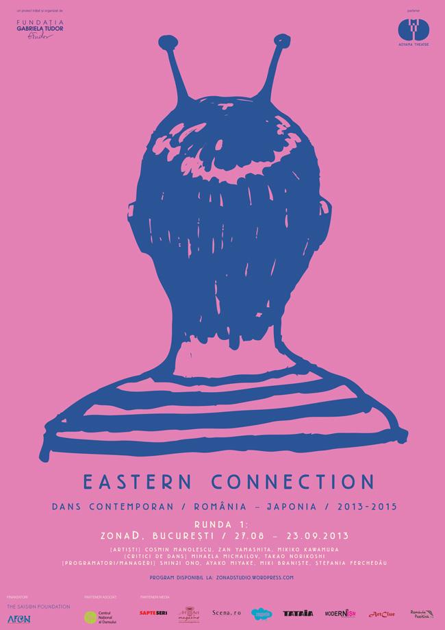 """Eastern Connection"" @  ZonaD – studio Paradis Serial, București"