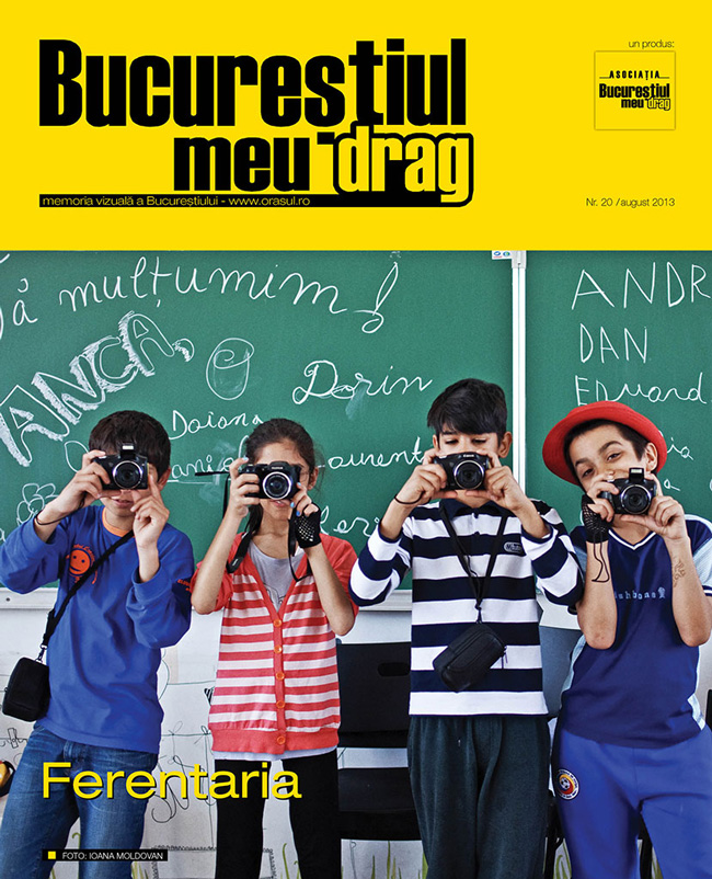 """Numărul 8/2013 al Revistei """"Bucureștiul meu drag"""" vă așteaptă să-l răsfoiți"""