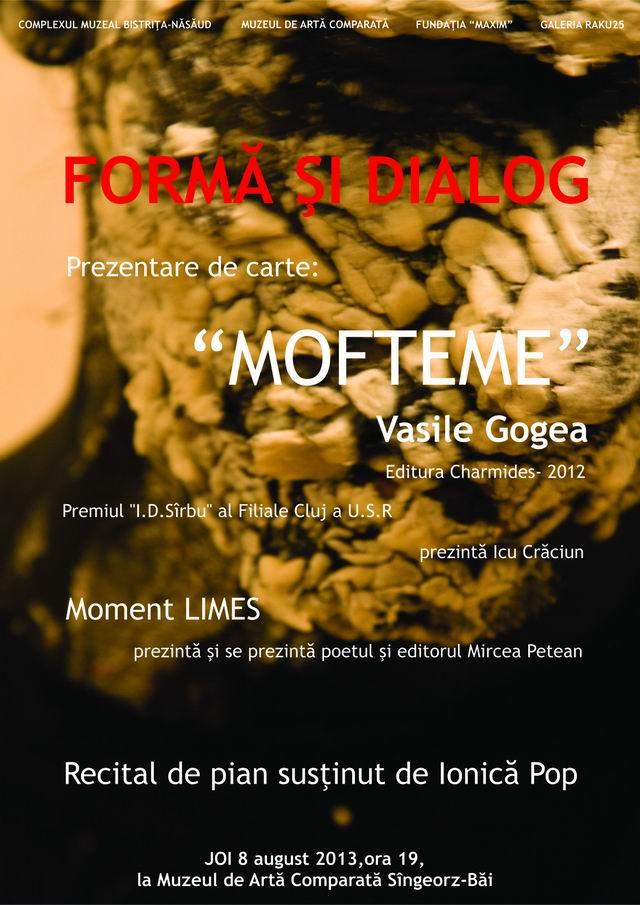 """""""Formă şi Dialog"""" @ Muzeul de Artă Comparată Sîngeorz-Băi"""
