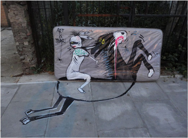 Street Artist Turns Found Garbage Into Quirky Characters