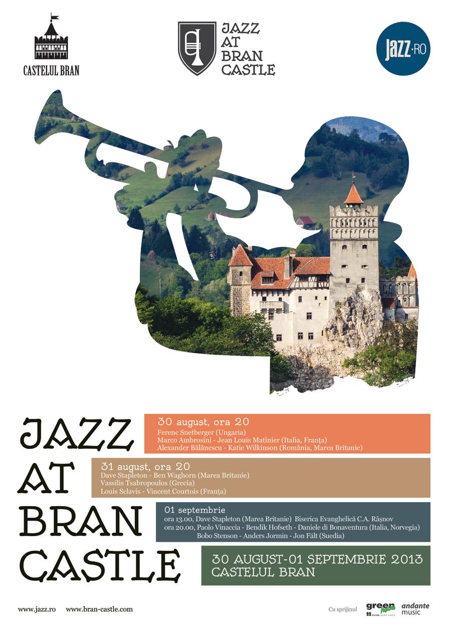 Prima ediţie a festivalului JAZZ at BRAN CASTLE @ jazz.ro