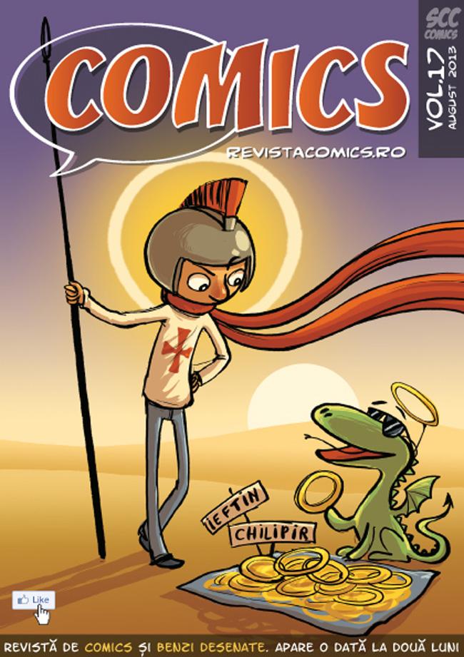 Revista COMICS nr. 17 (august 2013)