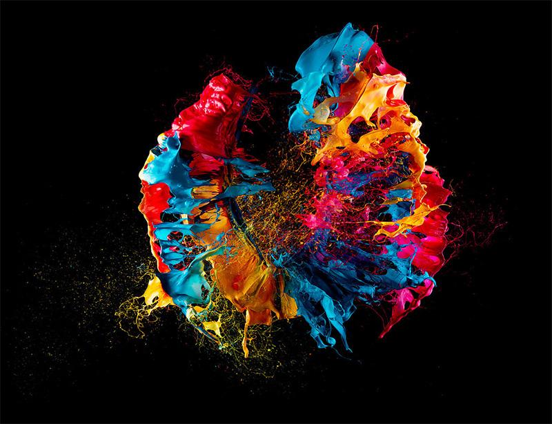 Liquid Jewel, Blasting Acrylics by Fabian Oefner