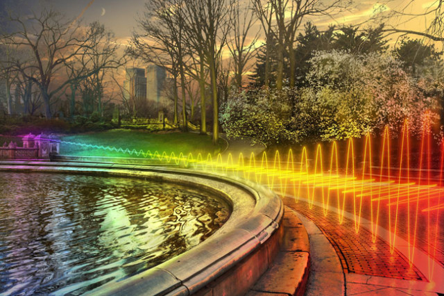 What Wi-Fi Would Look Like If It Were Visible