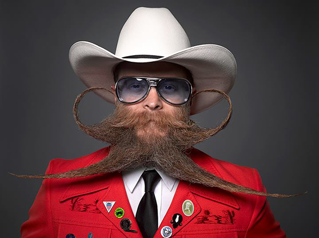 2013 National Beard and Moustache Championships at the House of Blues in New Orleans