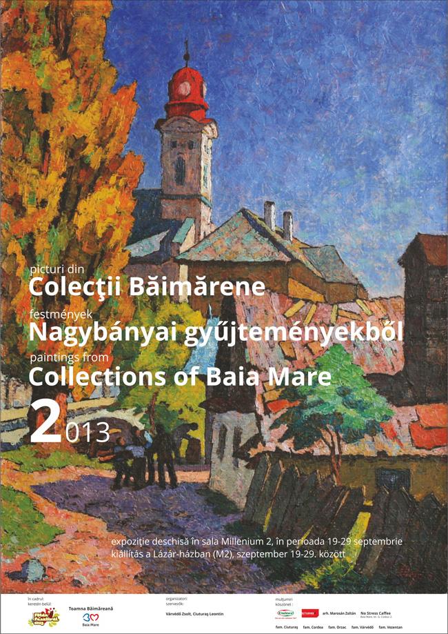 Colecții de artă băimărene 2 @ sala de expoziție Millenium 2, Baia Mare