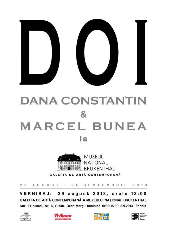 """Dana Constantin şi Marcel Bunea """"Doi"""" @ Muzeul Naţional Brukenthal, Sibiu"""