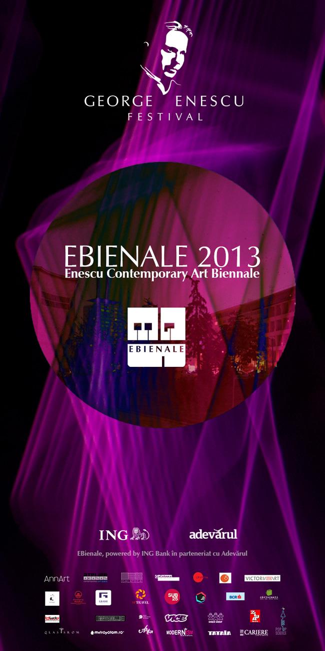 Vernisajele și proiecțiile de film ale Bienalei Enescu (EBienale), bienala de artă contemporană a Festivalului Internațional George Enescu