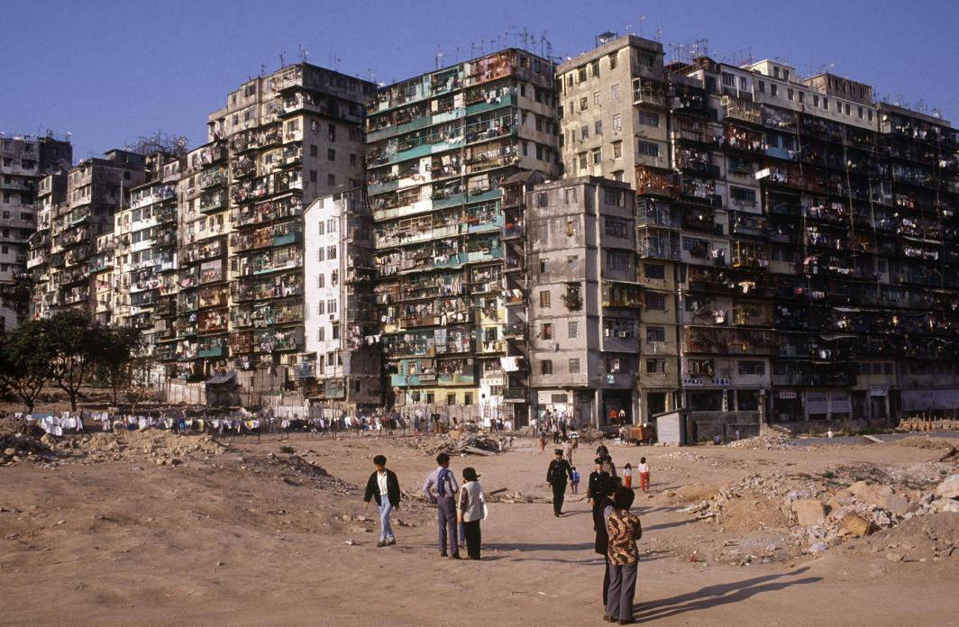 Final Years of Hong Kong's Notoriously Overcrowded Kowloon Walled City
